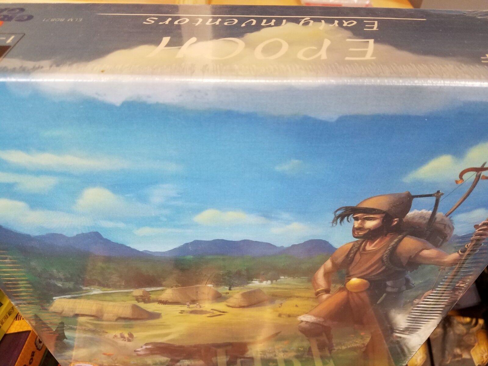 Epoch Early Inventors - Board Game Rio Grande Games New NIB