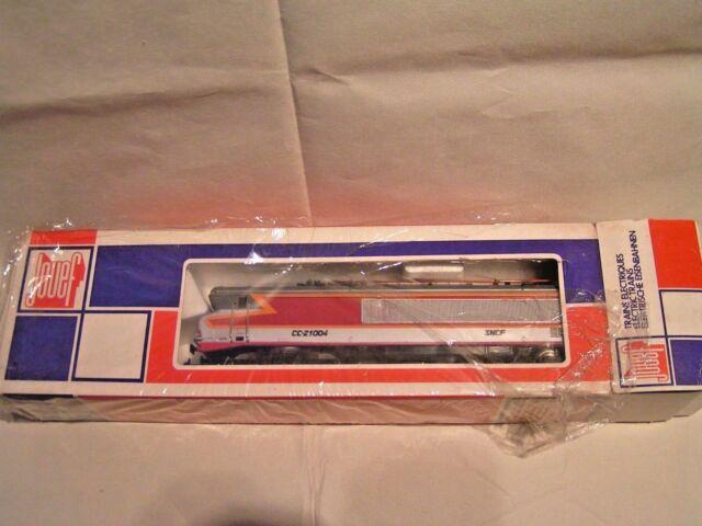 JOUEF HO 1/87 - 2 rails  -  MACHINE ELECTRIQUE CC 21004  (REF 8442)