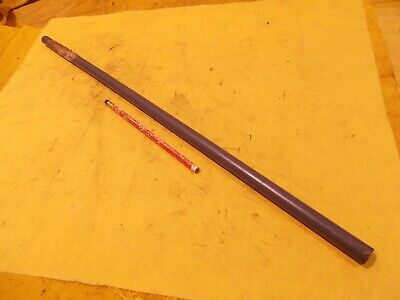 "GRAY PVC ROD machinable plastic round bar flat stock 5//8/"" OD x 23 3//4/"" OAL"