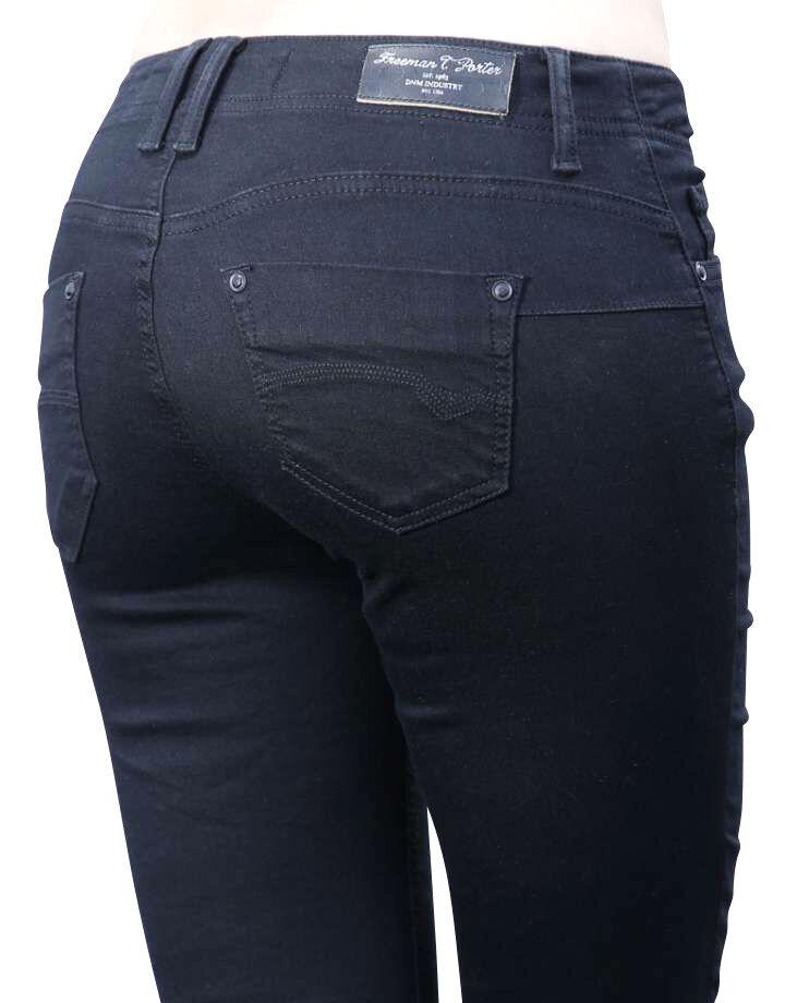 Librehomme T.Porter Dorya Super Stretch Magie Denim Noir Pantalon XS-L Neuf 89,95