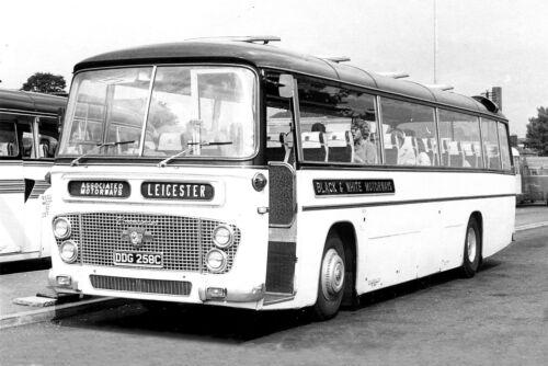 Black /& White Motorways Coaches Set BW-1 10 6x4 ins Black+White Photo Prints