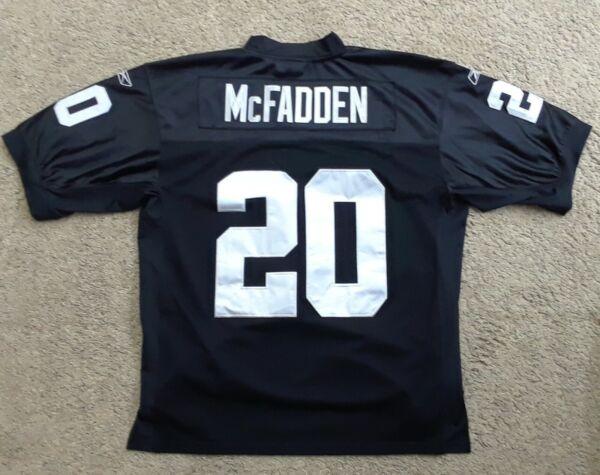 Official NFL Darren McFadden Oakland Raiders Football Jersey By ...