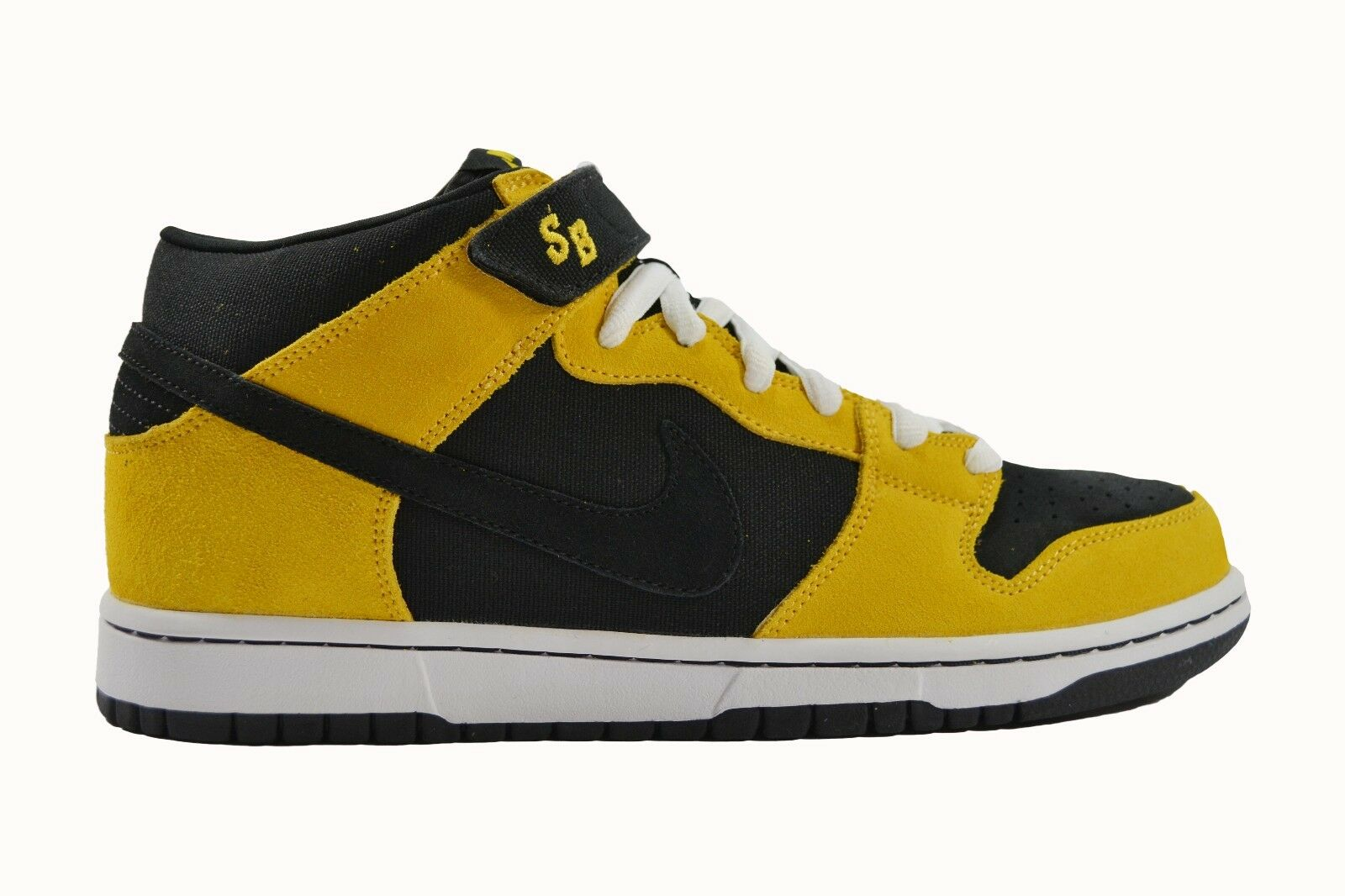 Nike Wu Tang DUNK MID PRO SB Black Varsity Yellow 314383-004 Price reduction Men's Shoes New shoes for men and women, limited time discount