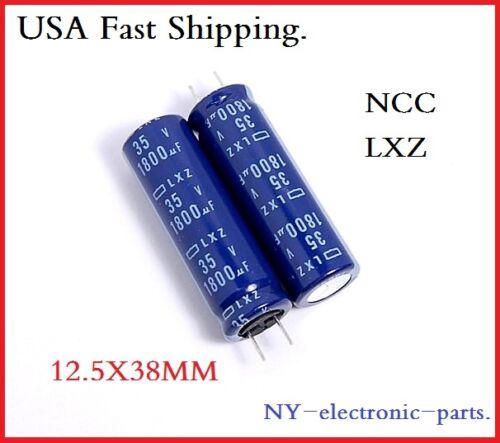 10x 35V 1800UF RADIAL CAPACITORS LXZ Low ESR JAPAN REPLACE 35V 25V 35V1800UF