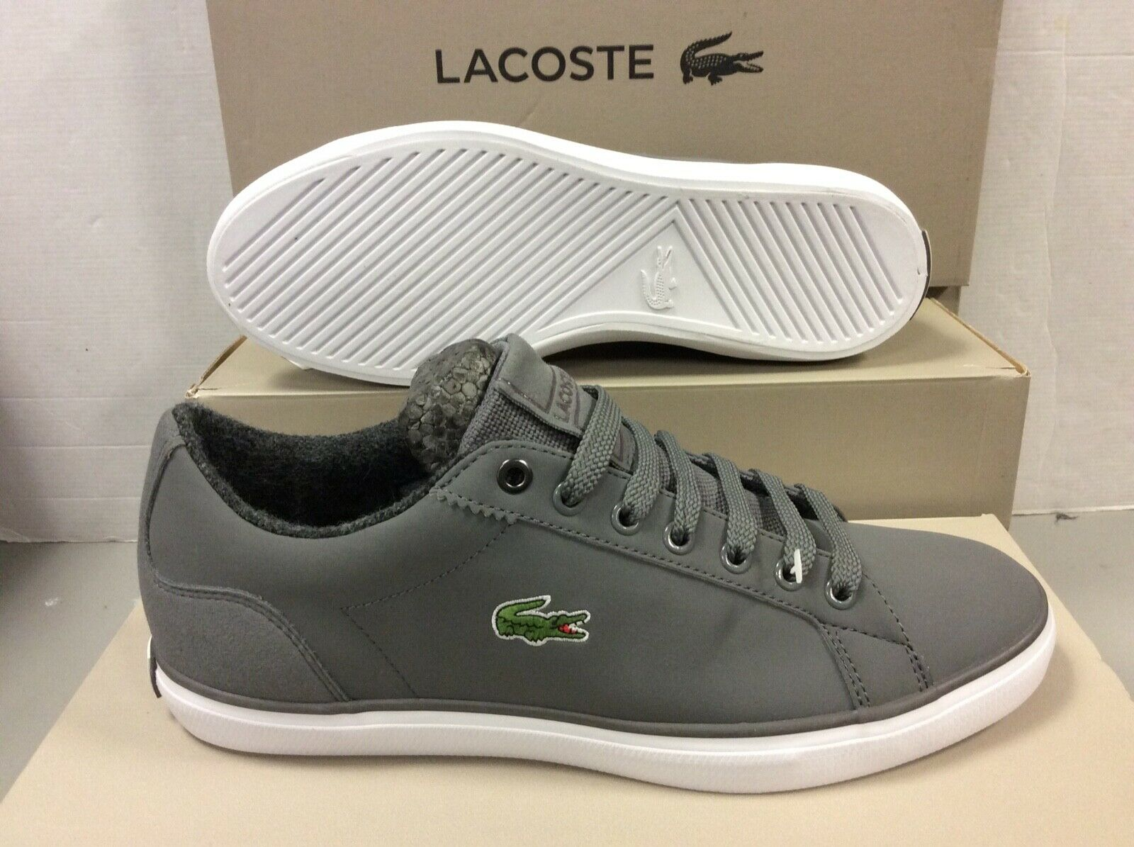 Lacoste LEROND 417 Men's Sneakers Trainers, Size     USA 7
