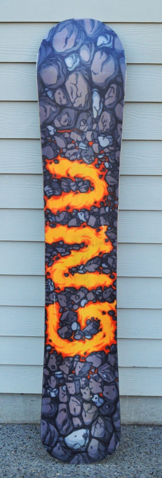 2019 GNU BILLY GOAT SNOWBOARD  540 162CM Directional USED