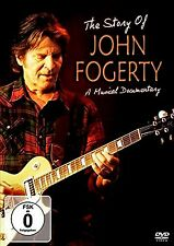 USED DVD // THE STORY OF JOHN FOGERTY //  CREEDENCE CCR - 13 TRACKS LIVE -