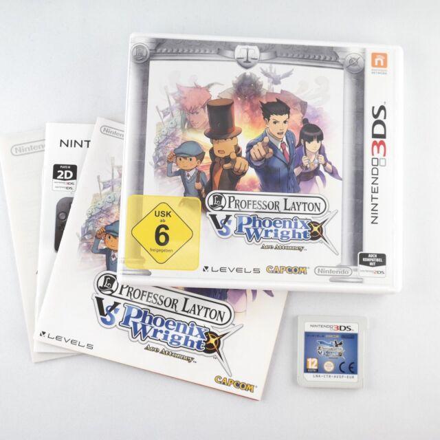Professor Layton vs. Phoenix Wright: Ace Attorney  Nintendo 3DS  Sehr gut