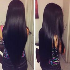 8A 300g/3bundles Unprocessed Bfazillian Straight Human Hair 30inches