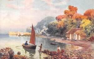 Torquay-The-Babbacombe-Bay-Devon-Boat-Henry-B-Wimbush