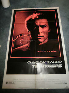 TIGHTROPE-1984-CLINT-EASTWOOD-ORIGINALONE-SHEET-POSTER