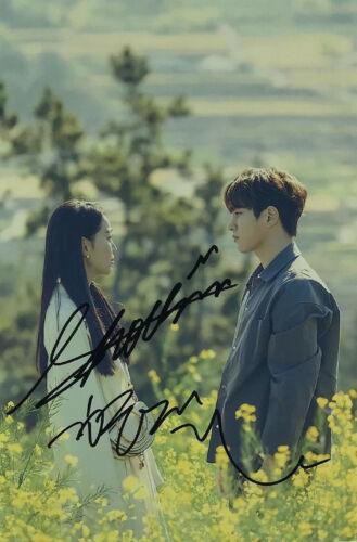 Love Shin HyeSun Kim MyungSoo Autograph Signd Photo Angel/'s Last Mission