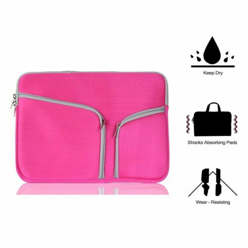 For MacBook Air Pro Laptop Sleeve Pouch Carry Bag Case Cover 11 12 13 15 inch