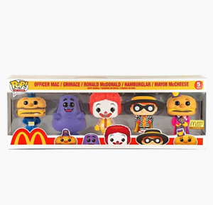 Funko Pop! 5 Five-Pack McDonald's Ad Icons Limited Edition 5PK *IN-HAND NOW*