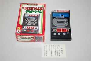 Epoch The Derby Game Grip Lend Vintage 1980 Electro Mechanical Game watch