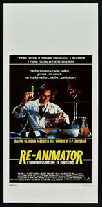 L126 Plakat Re-Animator Die Motel Der Zombie LOVECRAFT'S Combs Gordon Horror