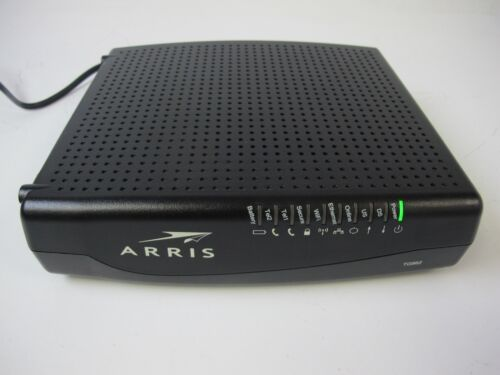 Arris TG862G Wireless DOCSIS 3.0 Cable Gateway Router Modem with Battery Backup