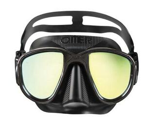 OMER Mask - Alien Black Silicone Dive Spearfishing + Retail Box *NEW*