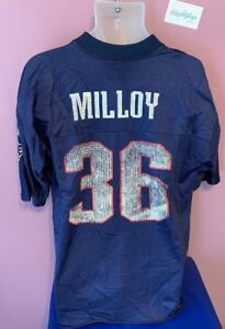 VTG-Lawyer-Milloy-New-England-Patriots-36-Jersey-Men-039-s-Large-NFL-90-s-Football