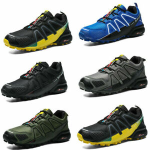 Men-039-s-Hiking-Shoes-Outdoor-Trekking-Sneaker-Sports-Speed-4-3-Running-Shoes-AA