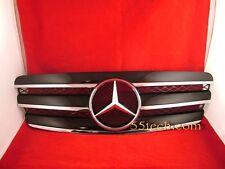 Mercedes Benz W211 Grill E320 E500 E55 Grille 3 Fins Black New 03~06 AMG