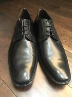 New ! To Boot New York Black Leather Lace Up Men's Dress Shoe Size 10M $325