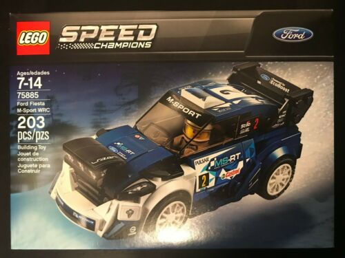 LEGO Speed Champions 75885 Ford Fiesta M-Sport WRC NISB New /& Sealed