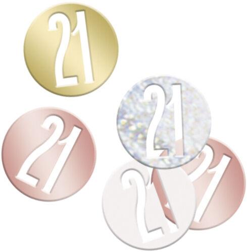 Metallic ROSE GOLD CONFETTI Sprinkles Birthday Wedding Table Party
