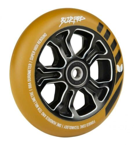 Funsport Gummi/Schwarz Blazer pro Roller Rad Rebellion Geformt 110mm