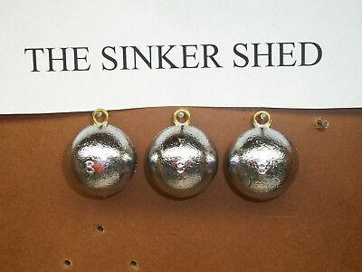 environ 85.05 g 3 oz Cannon Ball Sinkers-Quantité 10-LIVRAISON GRATUITE