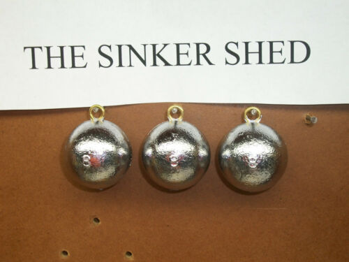 8 oz cannonball sinkers FREE SHIPPING choose quantity 6//12//25//50//100//120