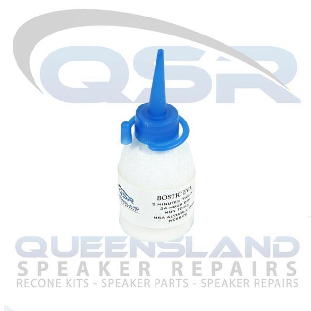 Speaker Repair Adhesive/ Glue – Great for Surrounds & Sealer (EVAWHT 50ML)