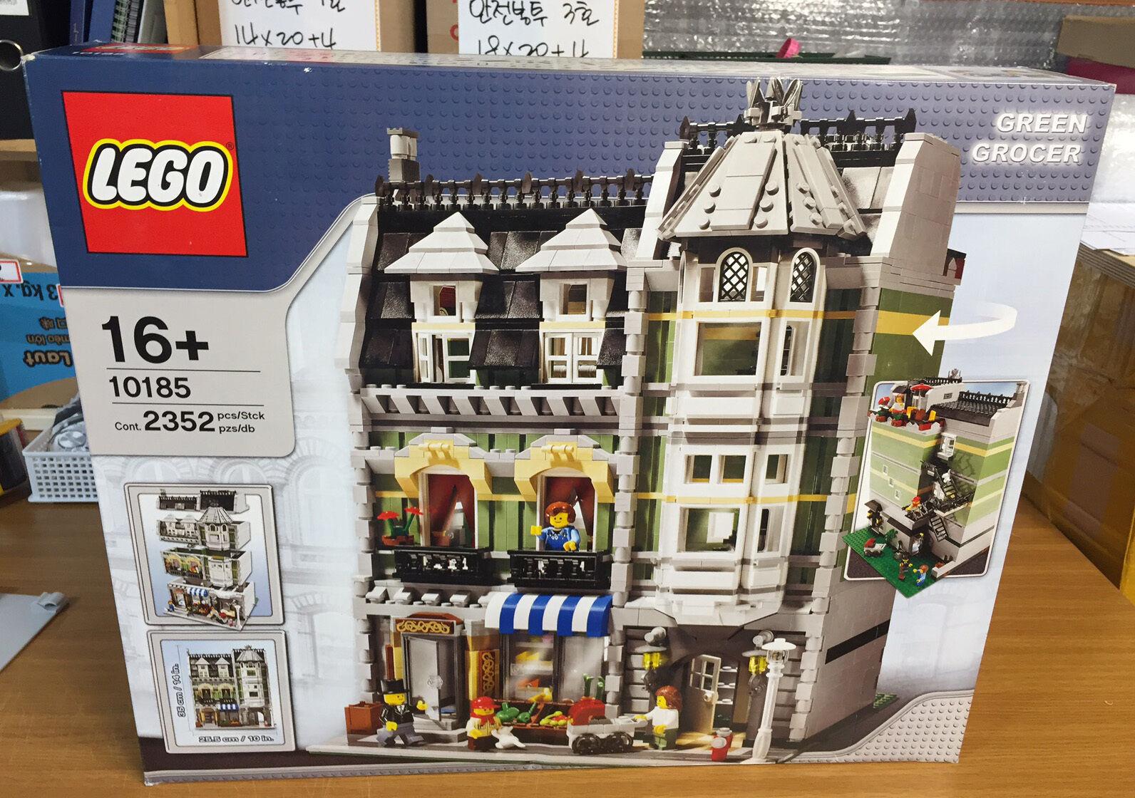 LEGO edifici  modulare 10185 verde GROCER-Nuovo, sigillato  servizio di prima classe