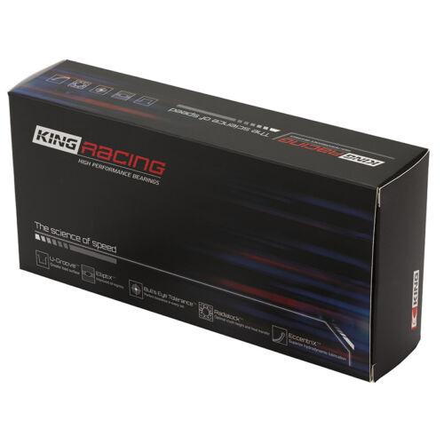"""King Crankshaft Main Bearing Set MB556HP020X; HP-Series .019/"""" for Chevy BBC"""