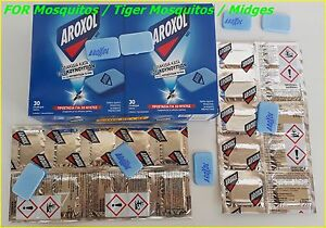Mosquito-Tiger-Insect-Flies-Bite-Repellent-AROXOL-Mat-Tablets-Refills