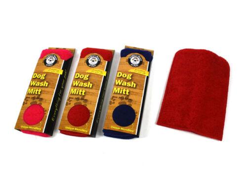 Dog-wash-Mitt-16cm-x-23cm-unique-micro-fibre-x-2-mitts-for-the-price