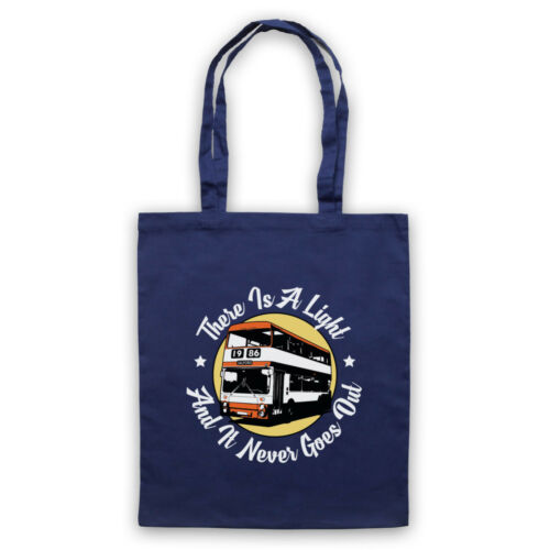 THE SMITHS UNOFFICIAL THERE IS A LIGHT NEVER GOES OUT TOTE BAG LIFE SHOPPER