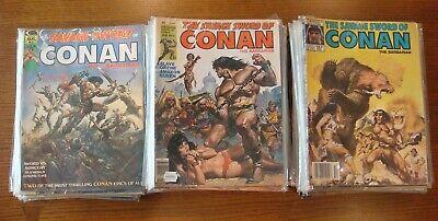 Savage Sword of Conan 1-12 Complete Comic Lot Run Set Marvel Collection
