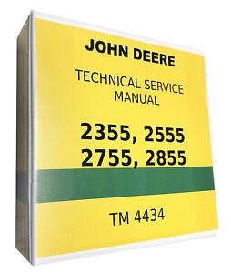 2555 john deere technical service shop repair manual ebay  john deere 2555 wiring diagram #15