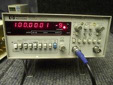 HP 5316B Frequenzzähler Counter Schneller Reziprokzähler > 170Mhz DCF77 Tested