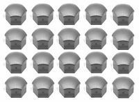 Audi (1995+) Wheel Lug Bolt Cap Grey (x20) Genuine Rim Screw Cover Clip on Sale