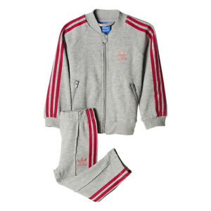 adidas Originals Kids' Superstar Tracksuit (Baby and Toddler)