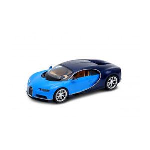 Welly-24077-Bugatti-Chiron-Light-Blue-Dark-Blue-Scale-1-24-Model-Car-New
