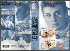 K7-video-VHS-N-amp-B-original-neuf-JOHNNY-HALLYDAY-film-les-parisiennes-1961