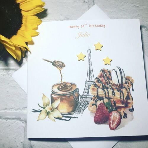 Friend Daughter Handmade 50th 60th 70th Womens Birthday Card Sister Mum