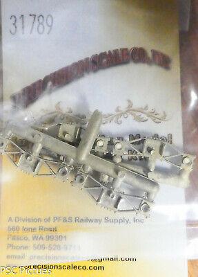 "Precision Scale HOn3 #31788 Truck Kits Brass SP Thielsen Freight w//26/"" Wheels"