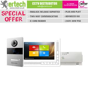 Home-2-Wire-Intercom-System-Kit-Analog-Indoor-Outdoor-Villa-Station-Doorbell-7-034