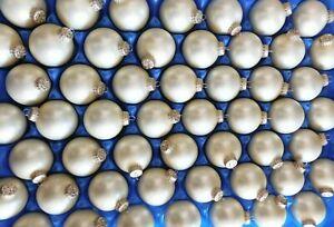 364-Weihnachtsbaumkugeln-Glaskugeln-in-Cremeweiss-Durchmesser-5-cm-Neuware