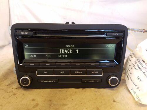 13 14 15 VW Volkswagen Jetta Passat Radio CD Player 1K0035164F /& Code Bulk 636