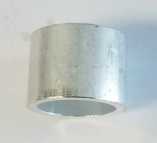 .73 Variety Pack of 12 x .25 1 O.D Round Spacer Aluminum 25//32 I.D. .91L